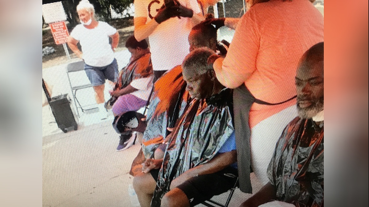 Columbia church offers haircuts and hope to the homeless as part of 'Love Week'