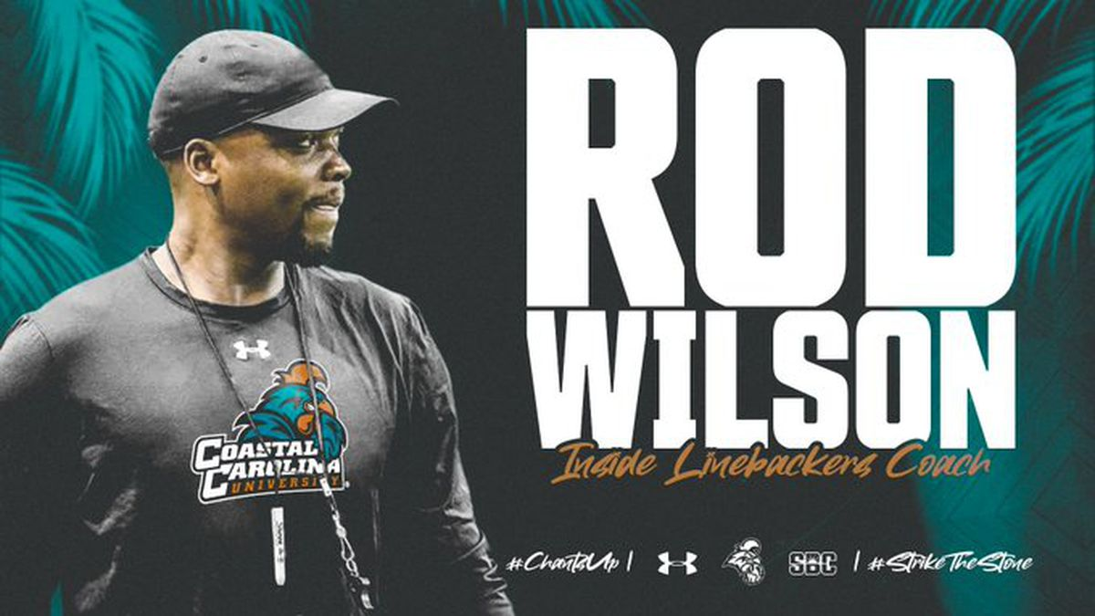 Coastal adds Rod Wilson to football coaching staff