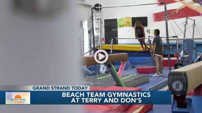 Beach Team Gymnastics at Terry & Don's