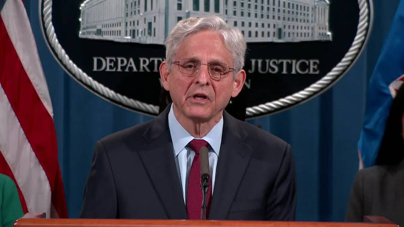 Attorney General Merrick Garland and the Justice Department are launching gun trafficking...
