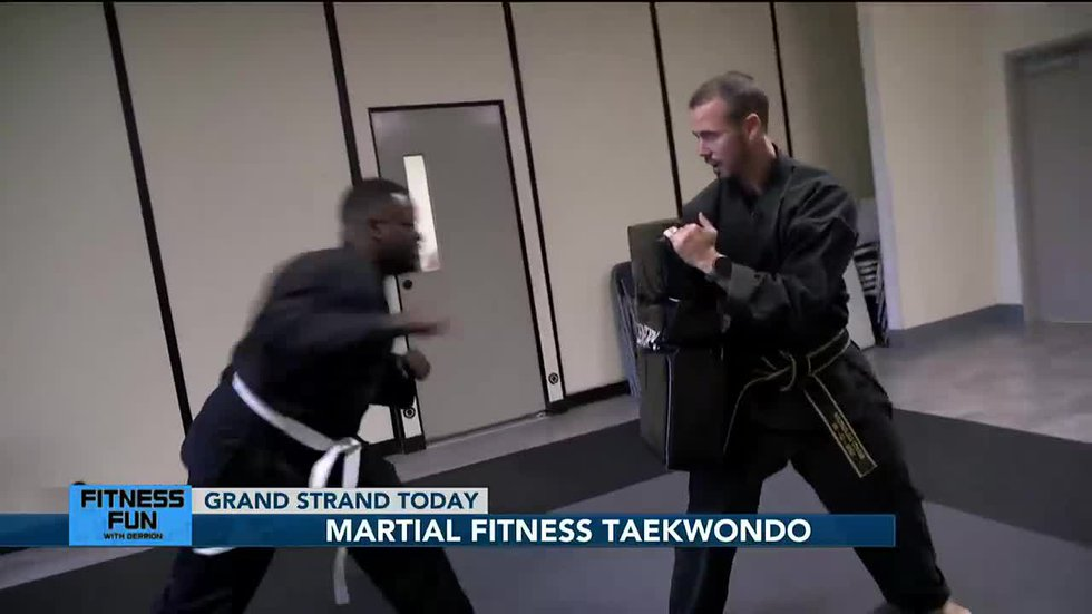 Fitness Fun with Derrion: Martial Fitness Taekwondo
