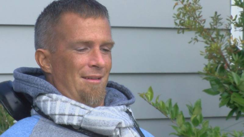 A paralyzed man who drowned in a neighborhood pool sought to encourage others afflicted with...
