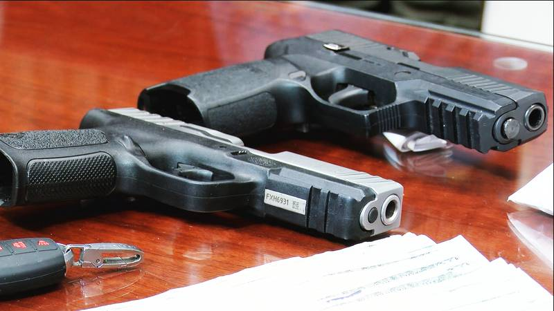 The federal government is cracking down on guns being bought or stolen in southern states that...