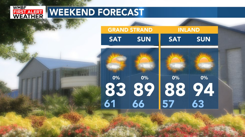 What a beautiful summer-like weekend in the area.
