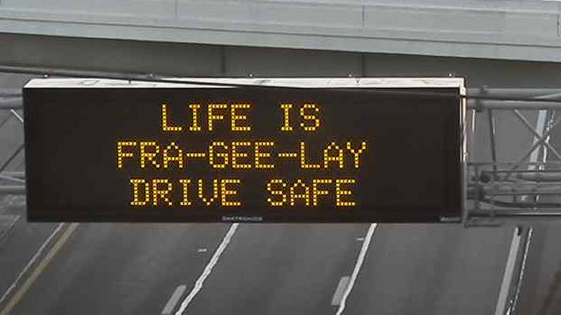 ODOT holiday signs