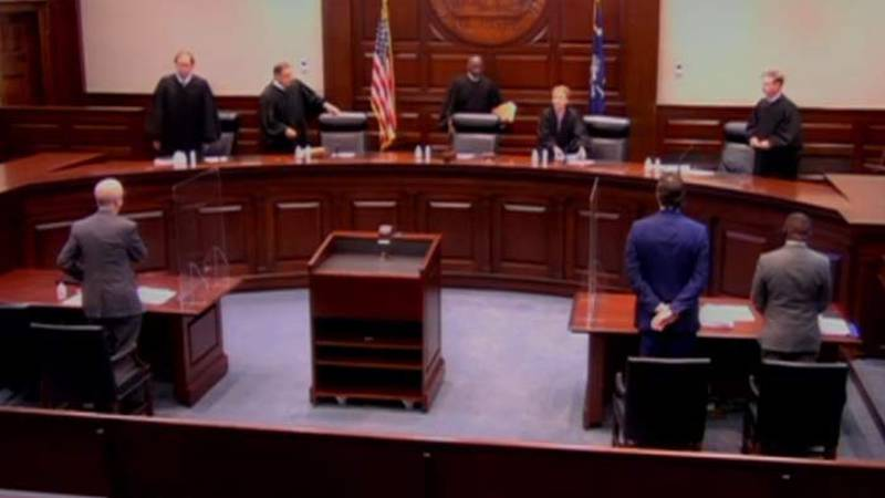 The South Carolina Supreme Court heard two cases Tuesday regarding a temporary law passed with...