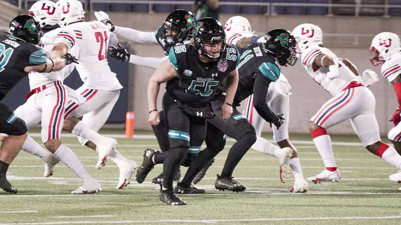 CCU long snapper CJ Schrimpf is one of 21 Chanticleers to receive preseason honors.