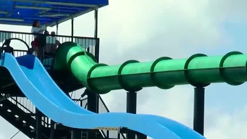 Two Grand Strand waterparks will only be open on the weekends for the next few weeks due to...