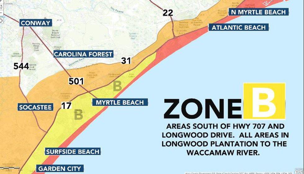 Evacuation Zone B