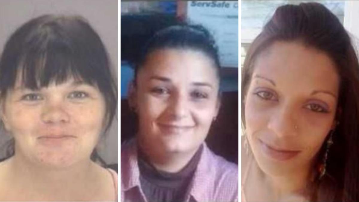Left to right: Christina Bennett, Rhonda Jones, Megan Oxendine (Source: Lumberton Police...