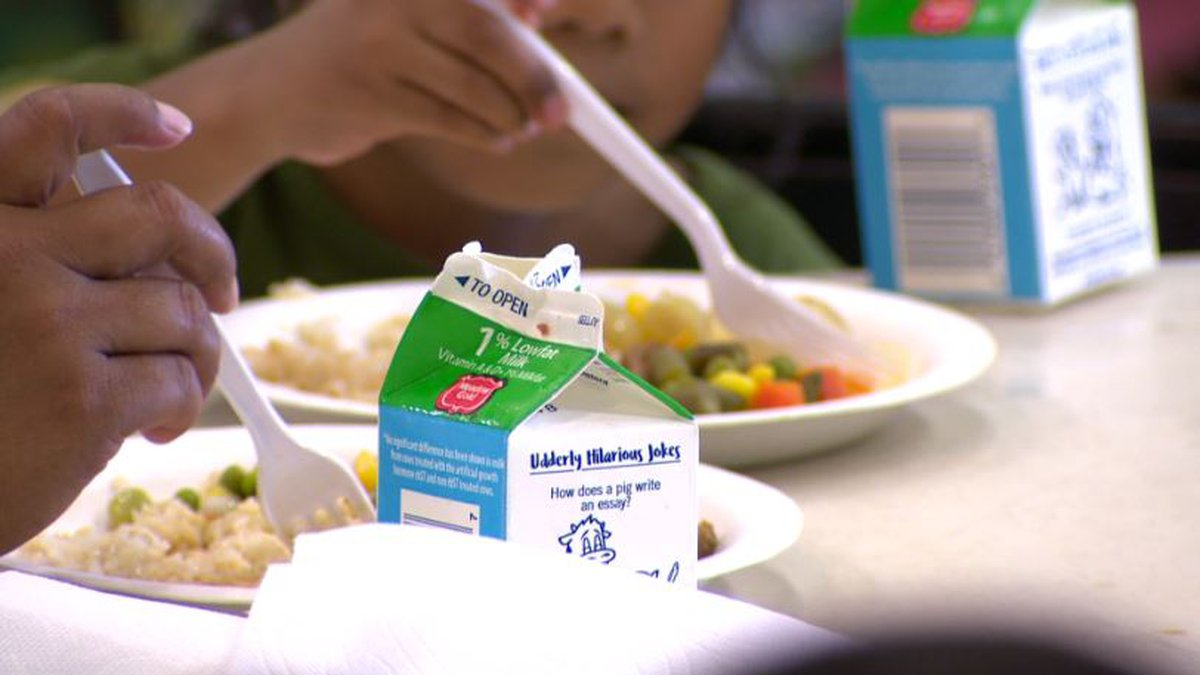 Florence School District 3 will provide free breakfast and lunch meals for children 18 and...