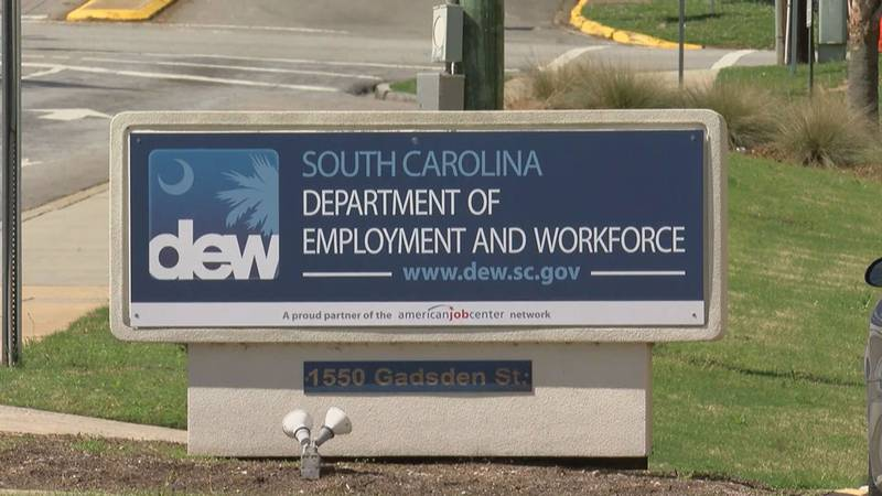 The South Carolina Department of Employment and Workforce reported the state's ninth...