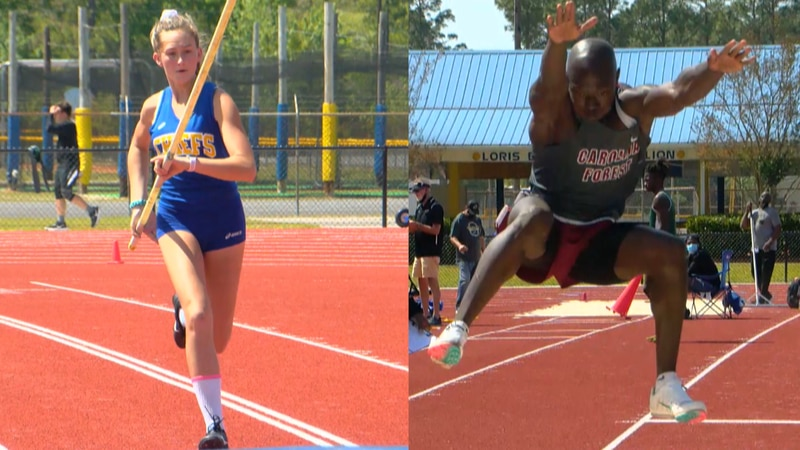 The North Myrtle Beach girls and Carolina Forest boys won team titles on Wednesday.