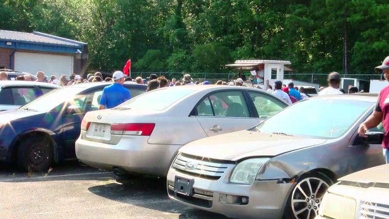 Various items were sold Saturday at an auction of unclaimed and abandoned items held by the...