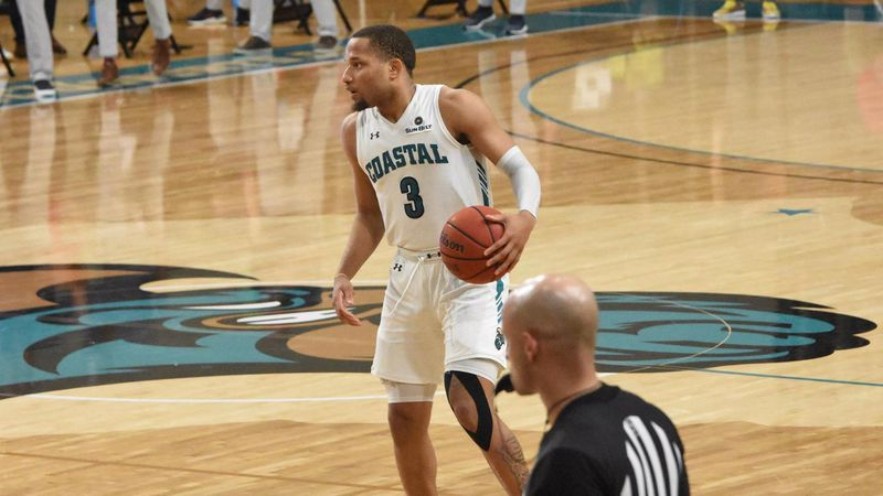 DeVante Jones had 26 points as Coastal Carolina improves to 8-2 on the year with a victory over...