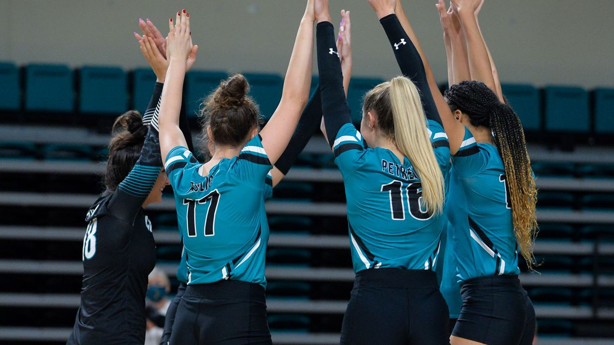 CCU volleyball.