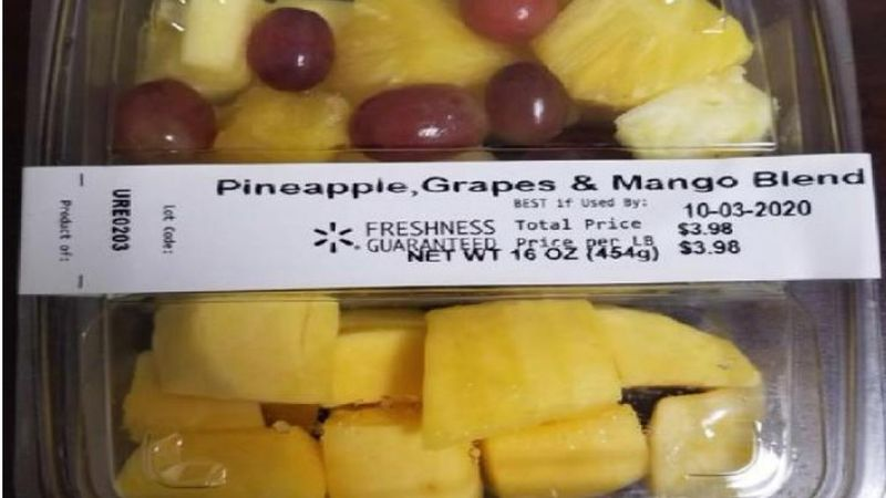 A voluntary recall has been issued for a variety of pre-sliced fruit distributed by Walmart.