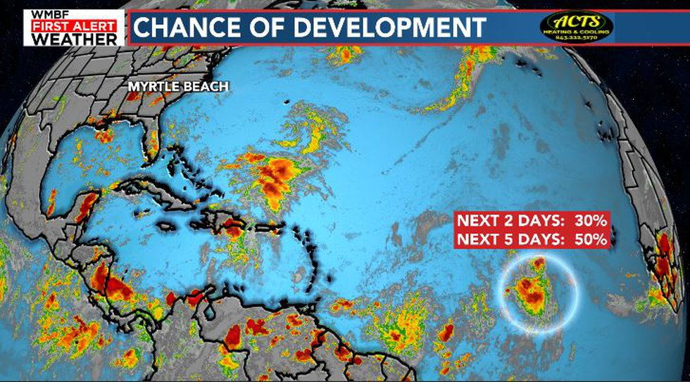 Grace may develop by the weekend.