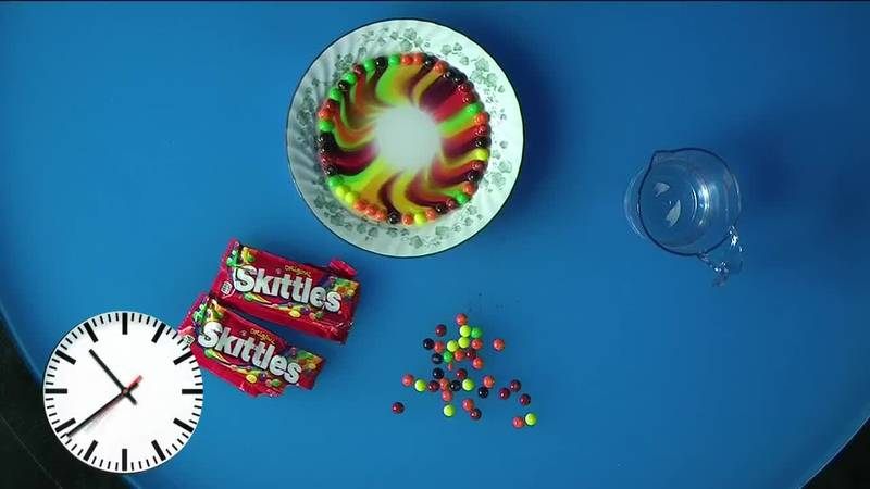 Science with Sean looks into how you can create Skittle art.