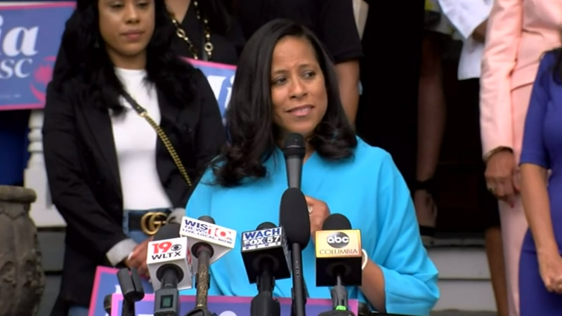 State Sen. Mia McLeod officially announced her candidacy for South Carolina governor on Thursday.