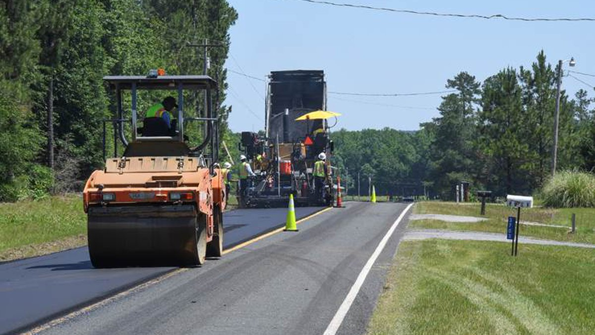 State Gas Tax Funds New 2021-2022 Paving Program, the Largest in S.C. History