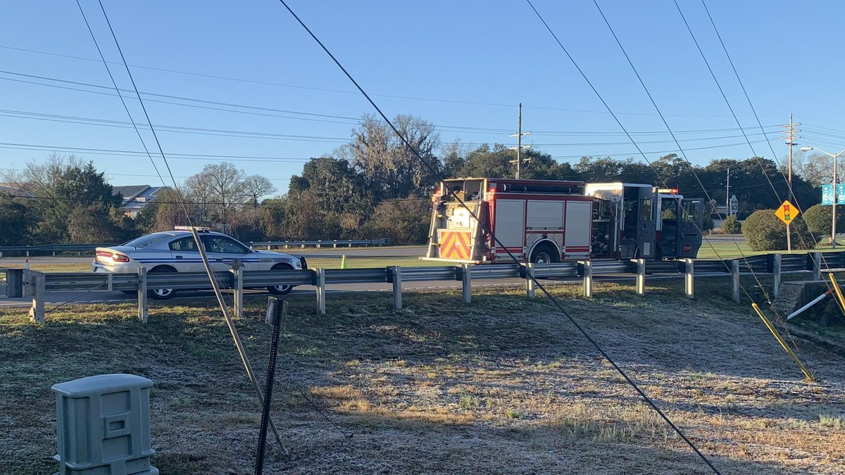 Horry County Fire Rescue crews responded to a vehicle recovery call around 7:15 a.m. in the...