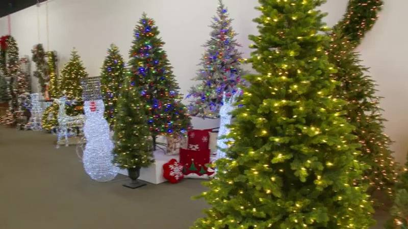Holiday season may be hit hard by the global supply chain crisis as even artificial Christmas...