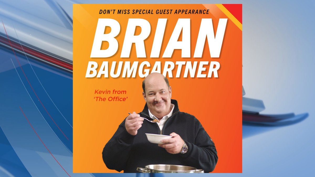 The World Championship Chili Cook-off announced that Brian Baumgartner will appear at this...