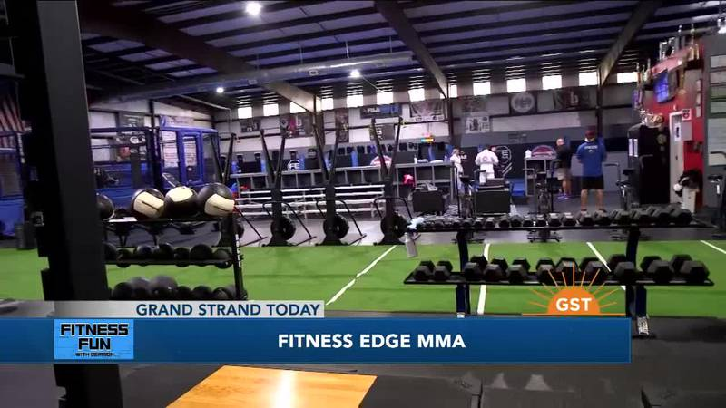 Fitness Fun with Derrion: Fitness Edge MMA