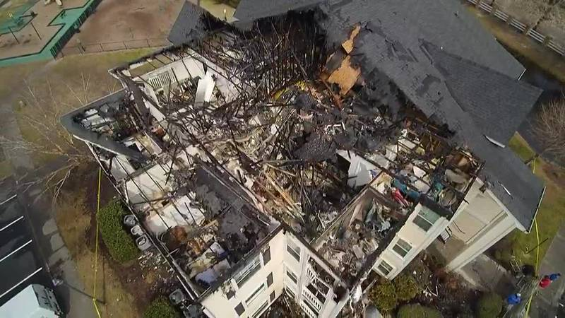 Several units at a Carolina Forest apartment complex sustained damage after a fire broke out...