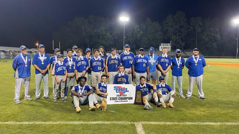 Lake View walks off Southside Christian to win Class 1A baseball title