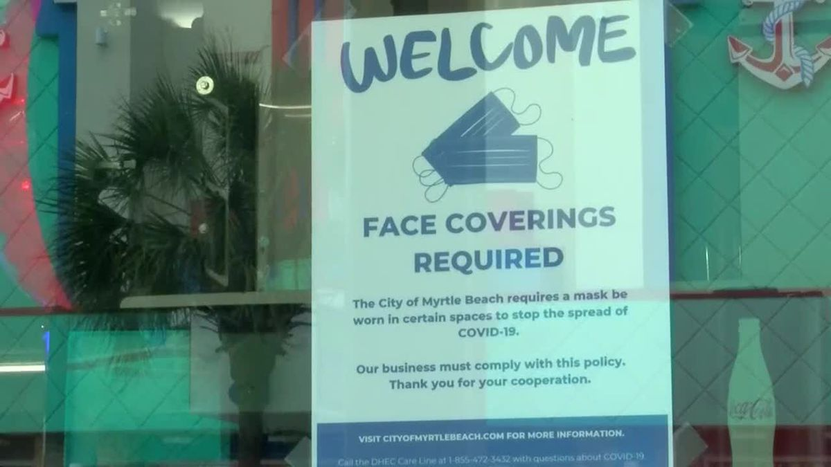 'Wearing face masks work': DHEC releases new data showing local masks ordinances slow COVID-19...