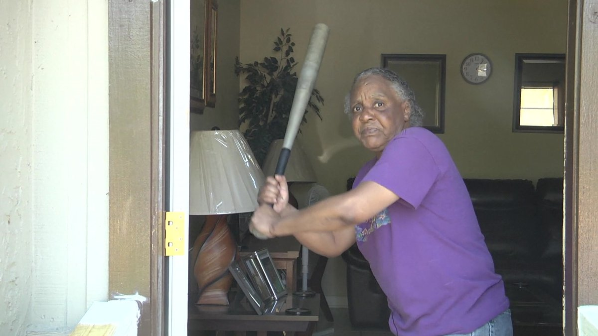 Police: 65-year-old Florida woman chases off 300-pound