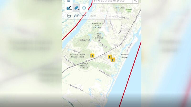 Georgetown County's new flood mapping system allows people to pinpoint their drainage issue for...