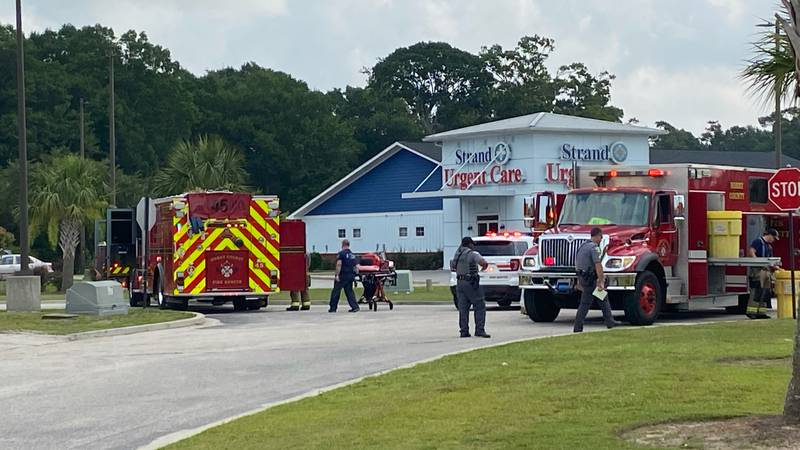 A hazmat team responded Friday morning for a report of a suspicious odor in Carolina Forest.