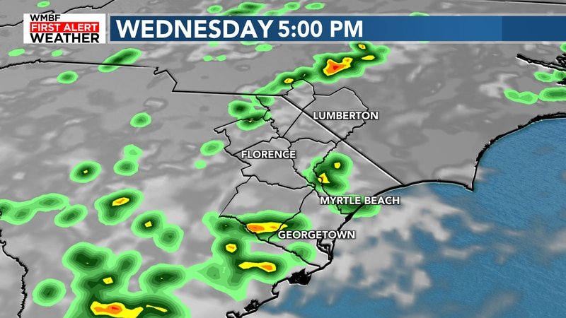 Some afternoon storms are likely