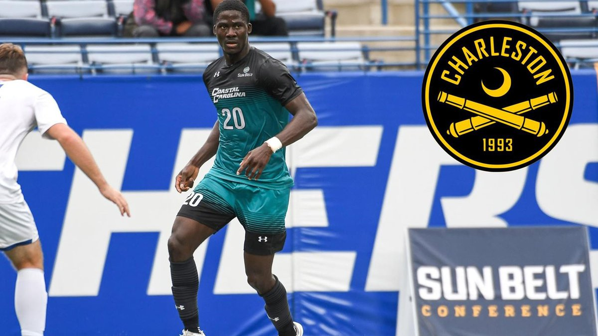 CCU's DZ Harmon signs with the Charleston Battery