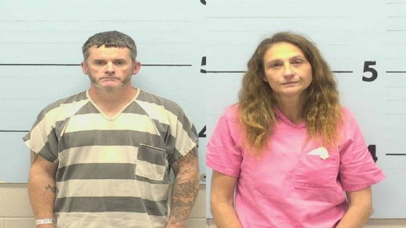 Dwayne Smith (left_ and Donna Hagy (right) were arrested for concealment of death
