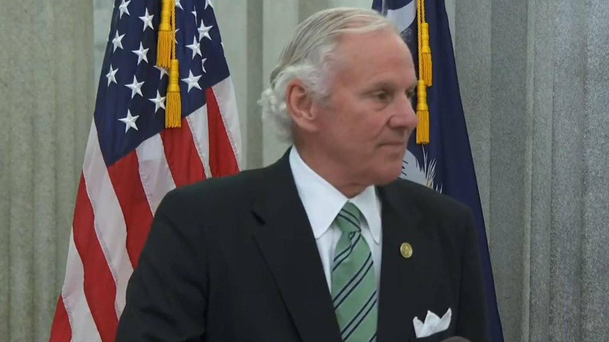 As COVID-19 cases rise in the Palmetto State, Gov. Henry McMaster is encouraging South...