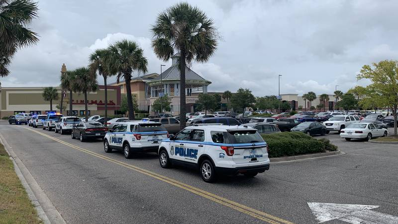 Myrtle Beach police were called to Coastal Grand Mall to investigate a shooting in the food...