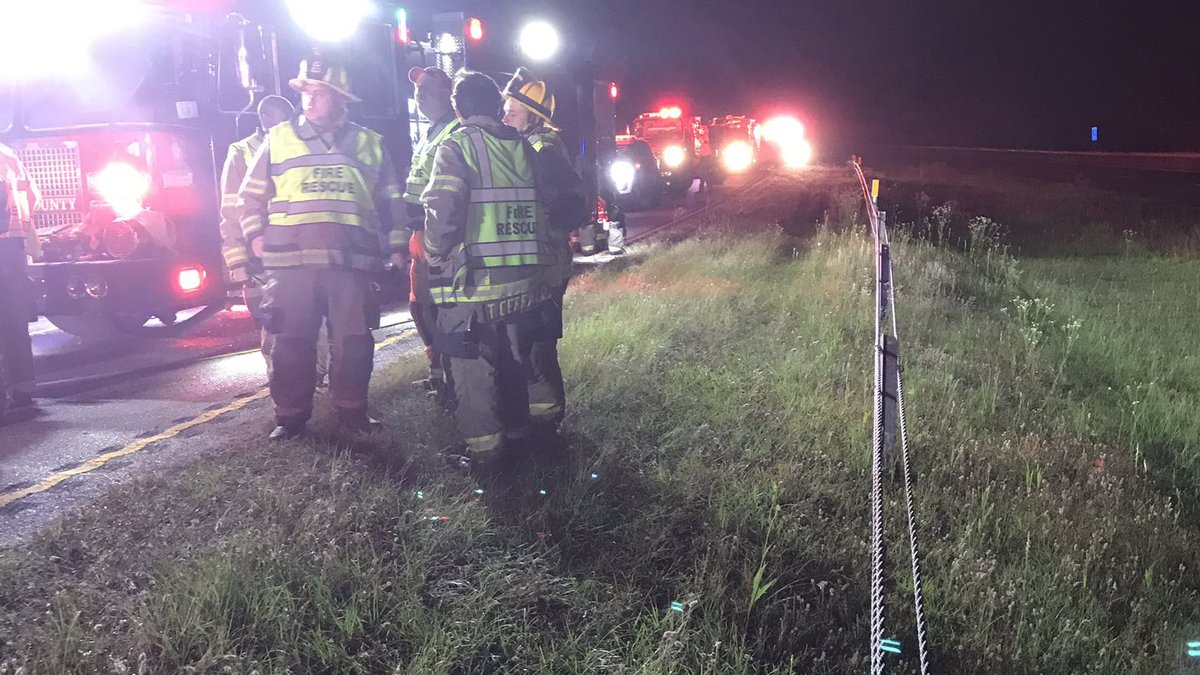 Horry County Fire Rescue responds to multi-vehicle crash on Highway 22. (Source: HCFR)