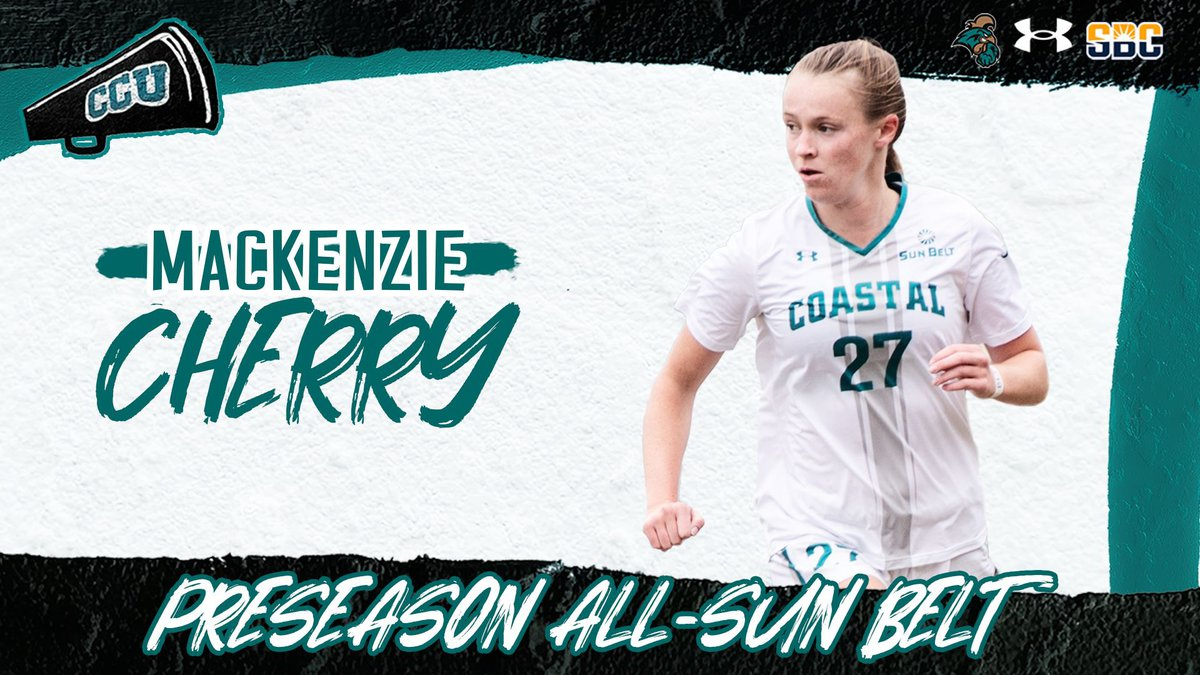 CCU women's soccer picked 4th in preseason poll, Cherry garners all-conference honors