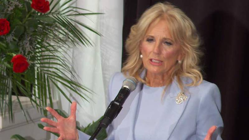 First Lady Jill Biden will visit the Medical University of South Carolina and Joint Base...