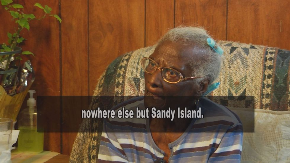 """""""No place like Sandy Island!"""" Elliot says. """"And today I don't care where I go, I want to come..."""