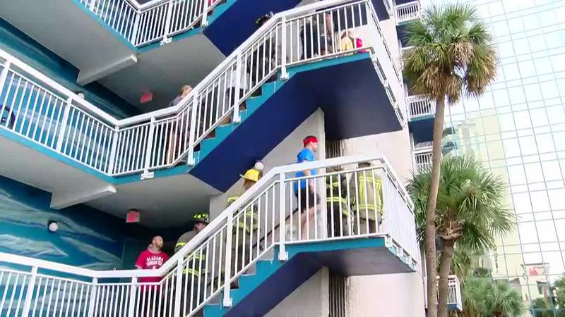 Myrtle Beach firefighters, others climb stairs to honor those lost on 9/11