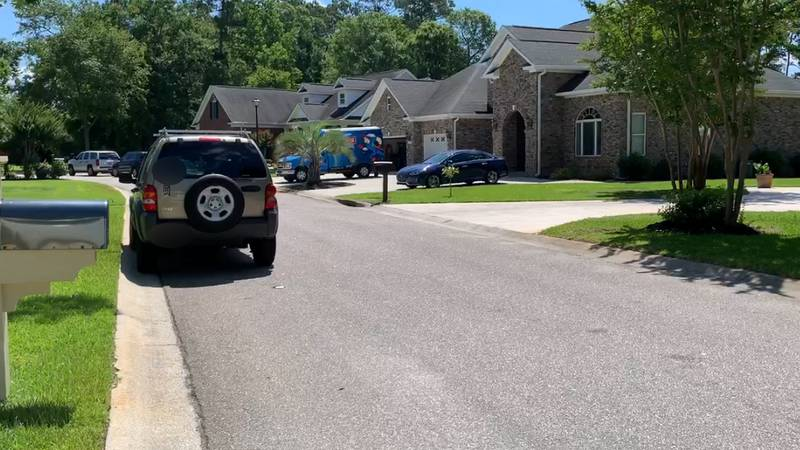 Crime scene units came Friday to the home of a Murrells Inlet woman police say concealed her...