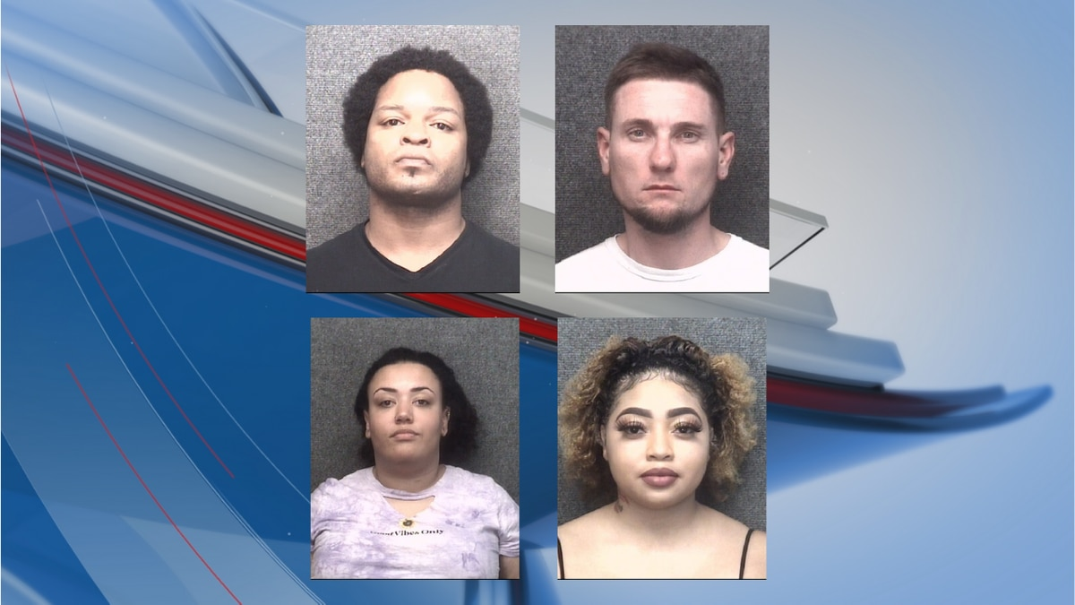Four people have been charged in connection to a shooting at a Myrtle Beach bar last month,...