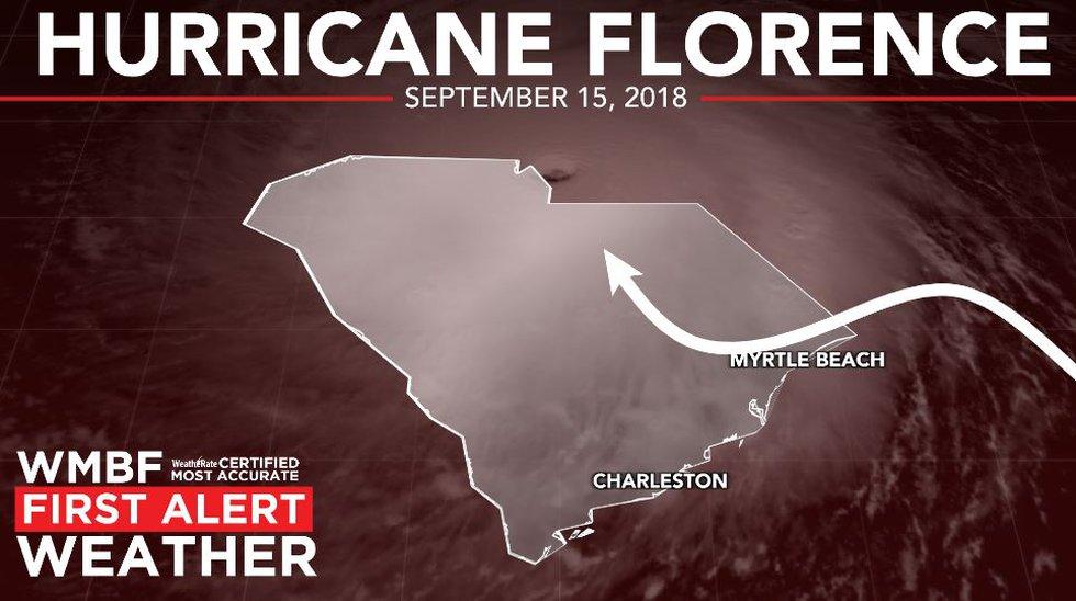 Florence hit in September, 2018.