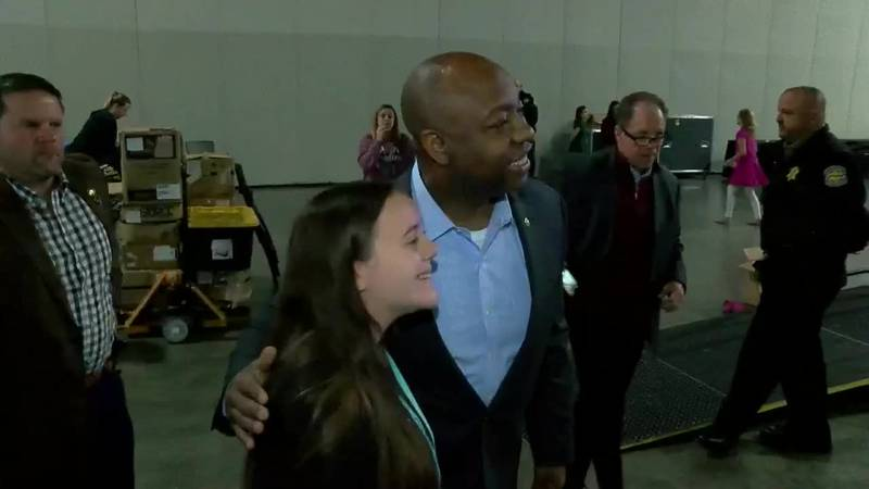 South Carolina Sen. Tim Scott made a stop in the Grand Strand and Pee Dee during his Palmetto...