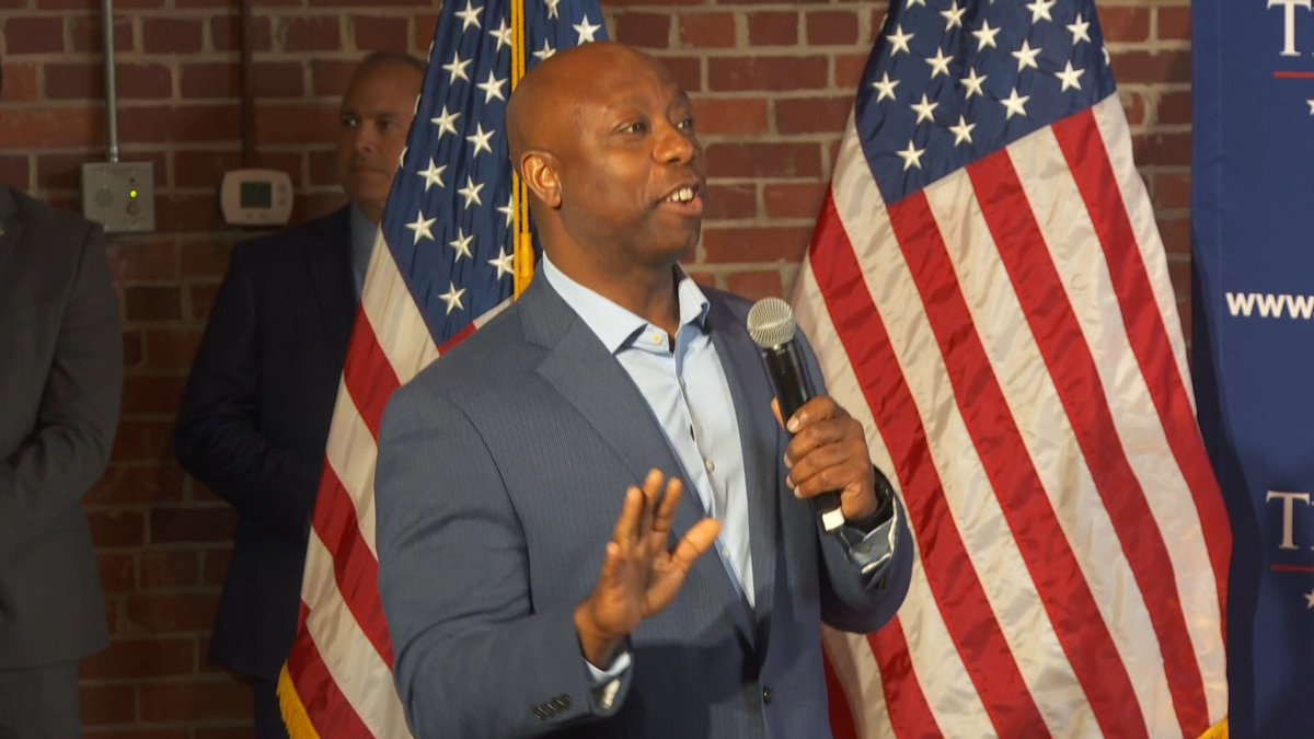 Scott's team says he will meet with leaders in Charleston, Columbia, and Greenville as he...